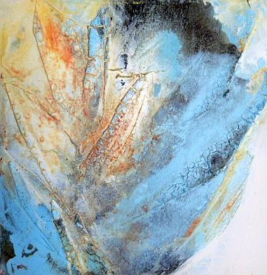 Blatt, 50 x 50 cm, Preis auf Anfrage