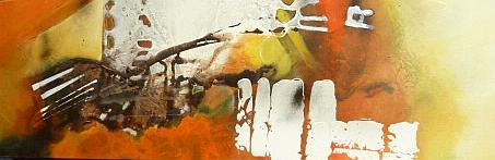 Fledermaus, 40 x 120 cm, Preis auf Anfrage