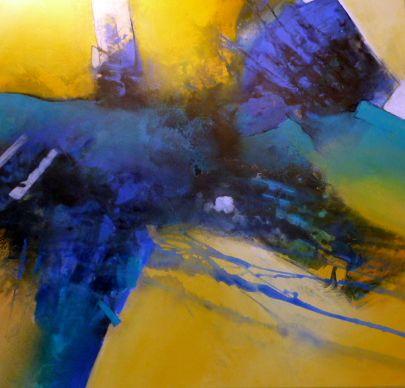 Die Kraft der Farbe 80 x 80 cm, Preis auf Anfrage