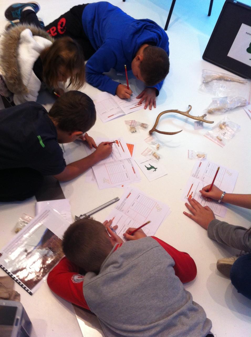 Activités scolaires - Les enquêteurs du temps