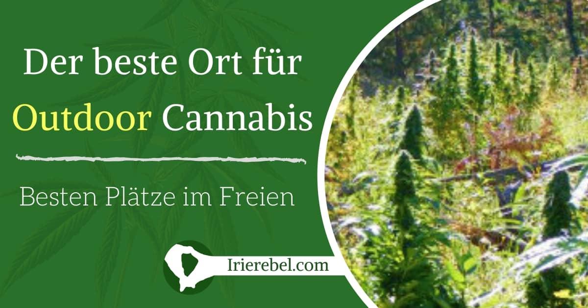 Die besten Orte um Cannabis im Freien (Outdoor) anzubauen