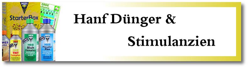 Hanf Dünger