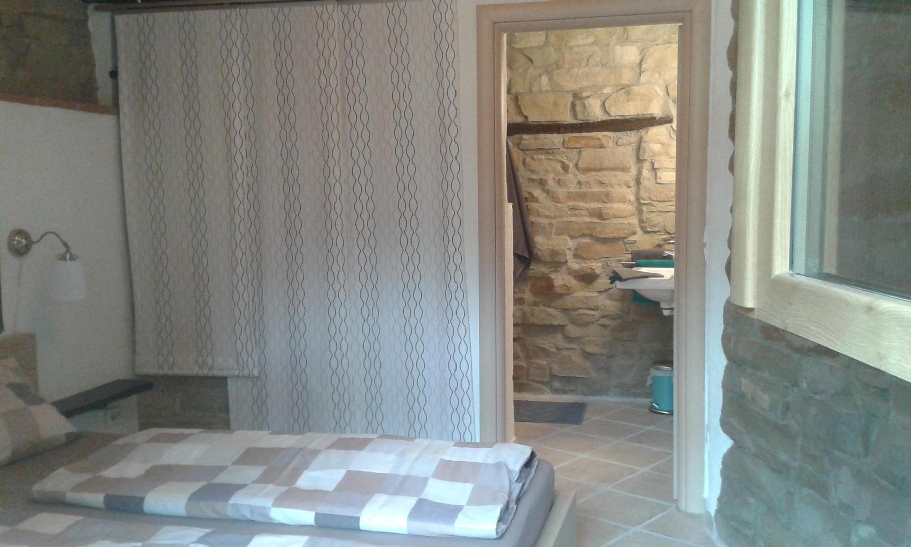Eingang Bad - 1. Schlafzimmer