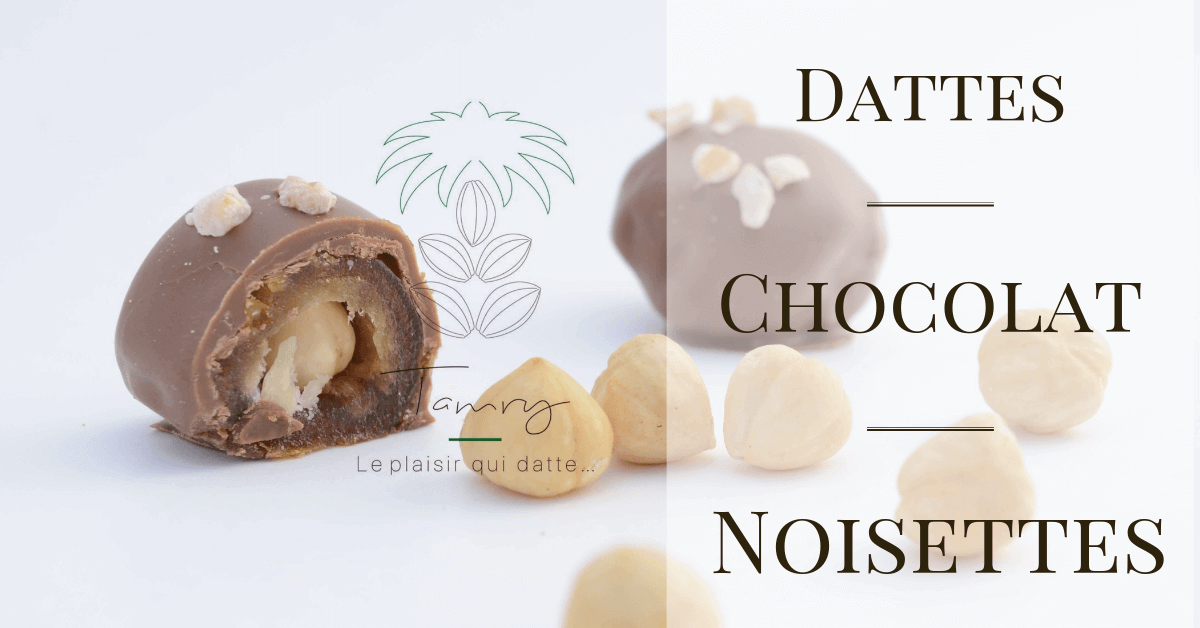 Dattes Choco-noisettes