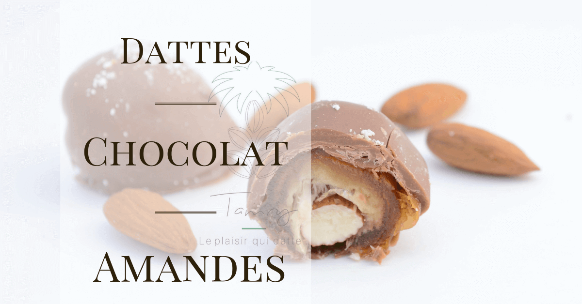 Dattes Choco-amandes