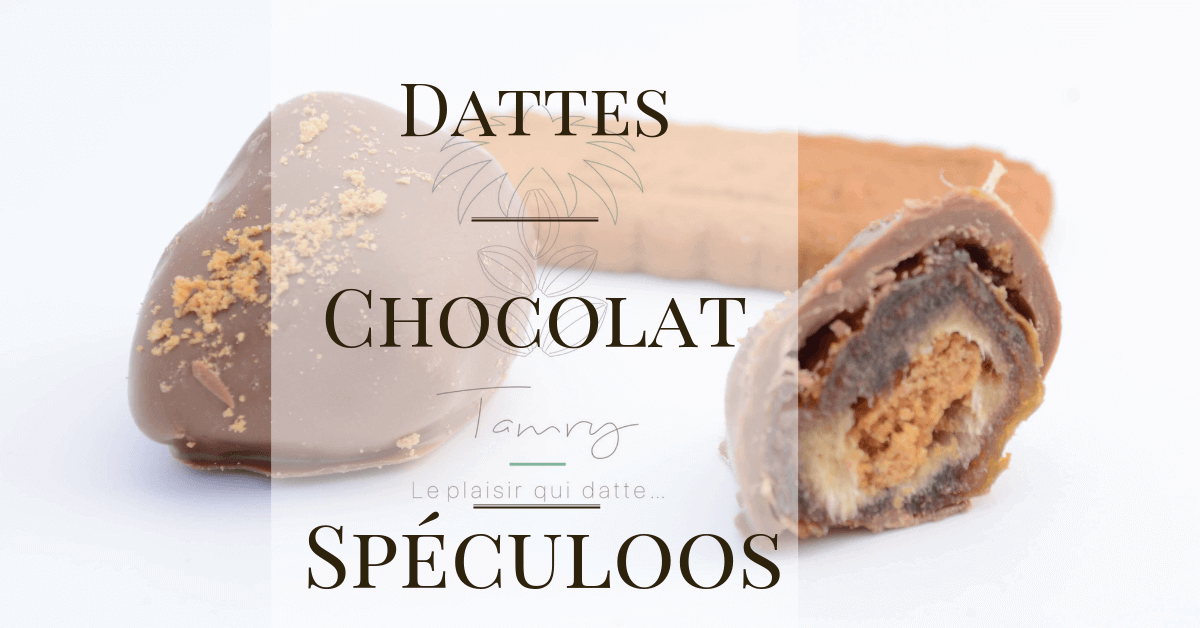 Dattes Choco-spéculoos