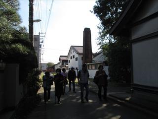 鈴木酒造 レンガの煙突