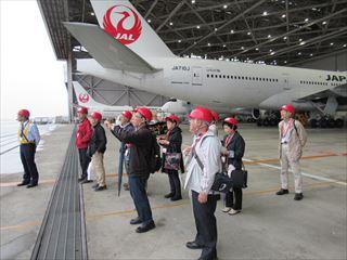 JAL工場見学記念2