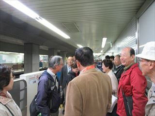 JAL工場見学完了
