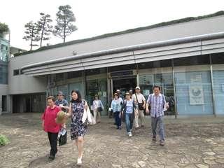 竹芝小型船ターミナル→乗船
