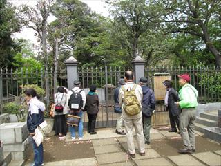 谷中 慶喜公墓所