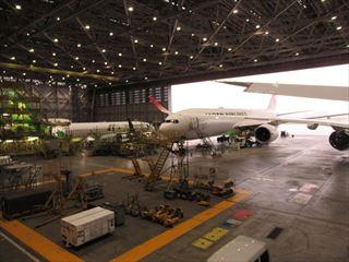 JAL工場見学解説9