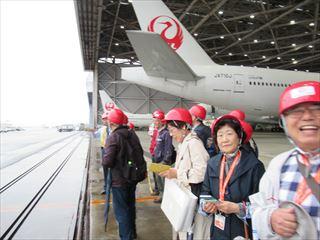 JAL工場見学解説17