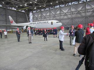 JAL工場見学解説16