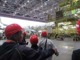 JAL工場見学解説12