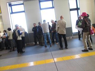 岩槻駅集合2