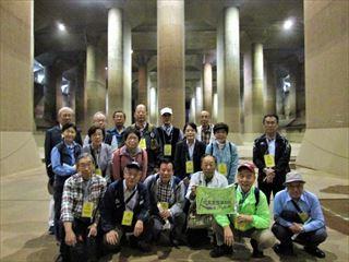 首都圏外郭放水路:地下神殿に行ってきました