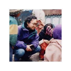 g3撮影の栗原さん/@ネパール/25年前