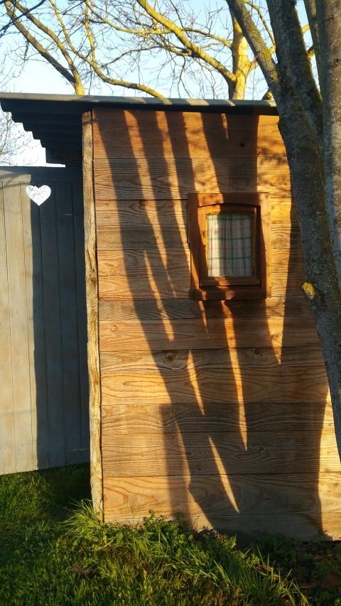 petite fenêtre pour la vue latérale