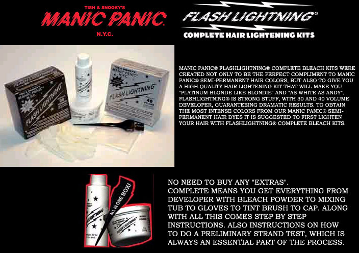 Manic Panic Bleach Kits