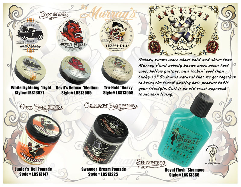 Hair Pomade by Lucky 13
