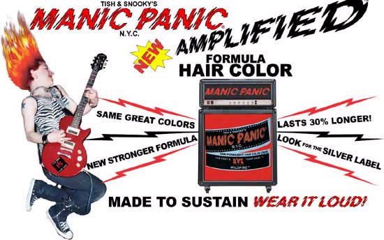 Manic Panic Amplified Formula Hair Dye