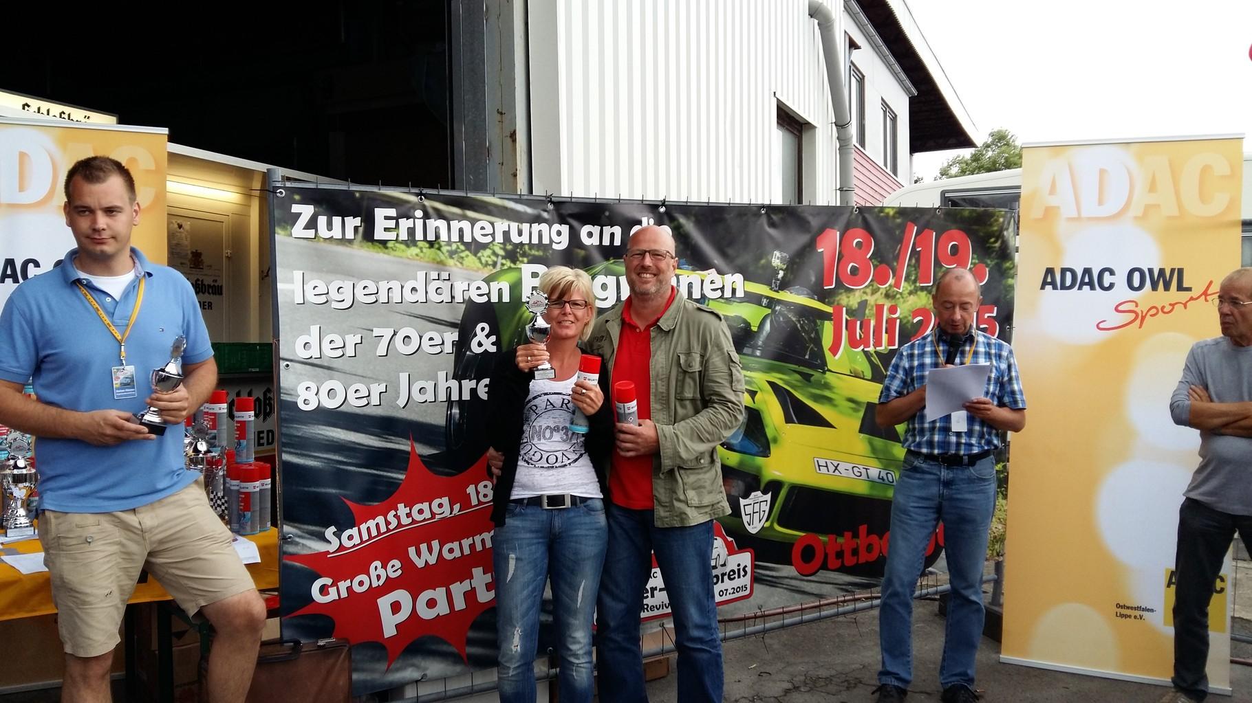 Siegerehrung Weser-Bergpreis Modus1 / Klasse 8