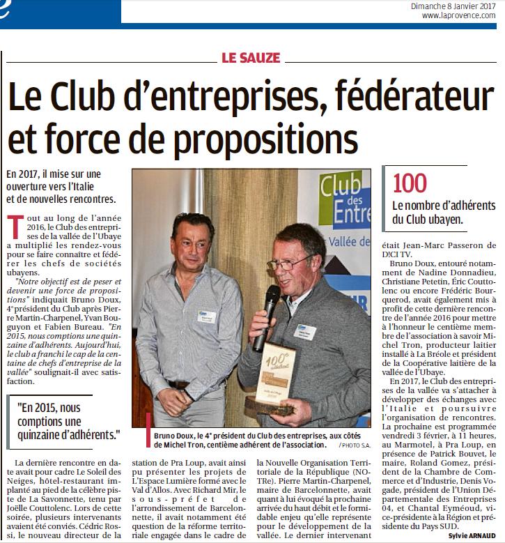 club entreprise ubaye article provence 8 janvier 2017