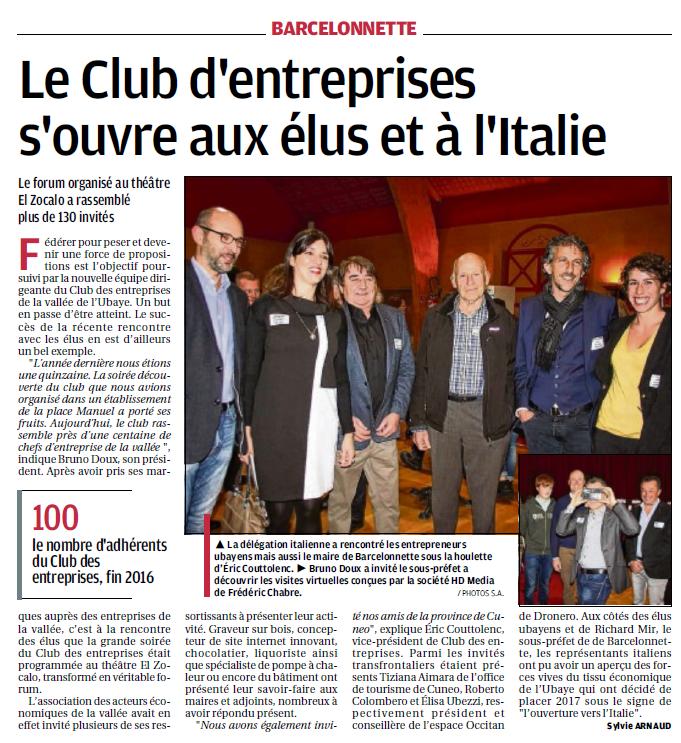 club entreprise ubaye article provence 13 novembre 2016