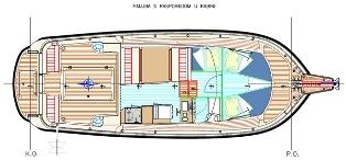 Damor 900 Sunturist Yachting Yachtcharter Motoryacht Motorboot Zadar,  Marina Tankerkomerc