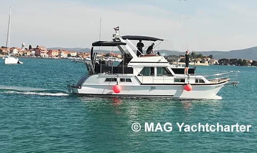 Sukosan Dalmacija Stahlyacht Motoryacht Flybridge Payo Daniela