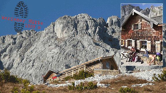 Werfnerhütte 1969m