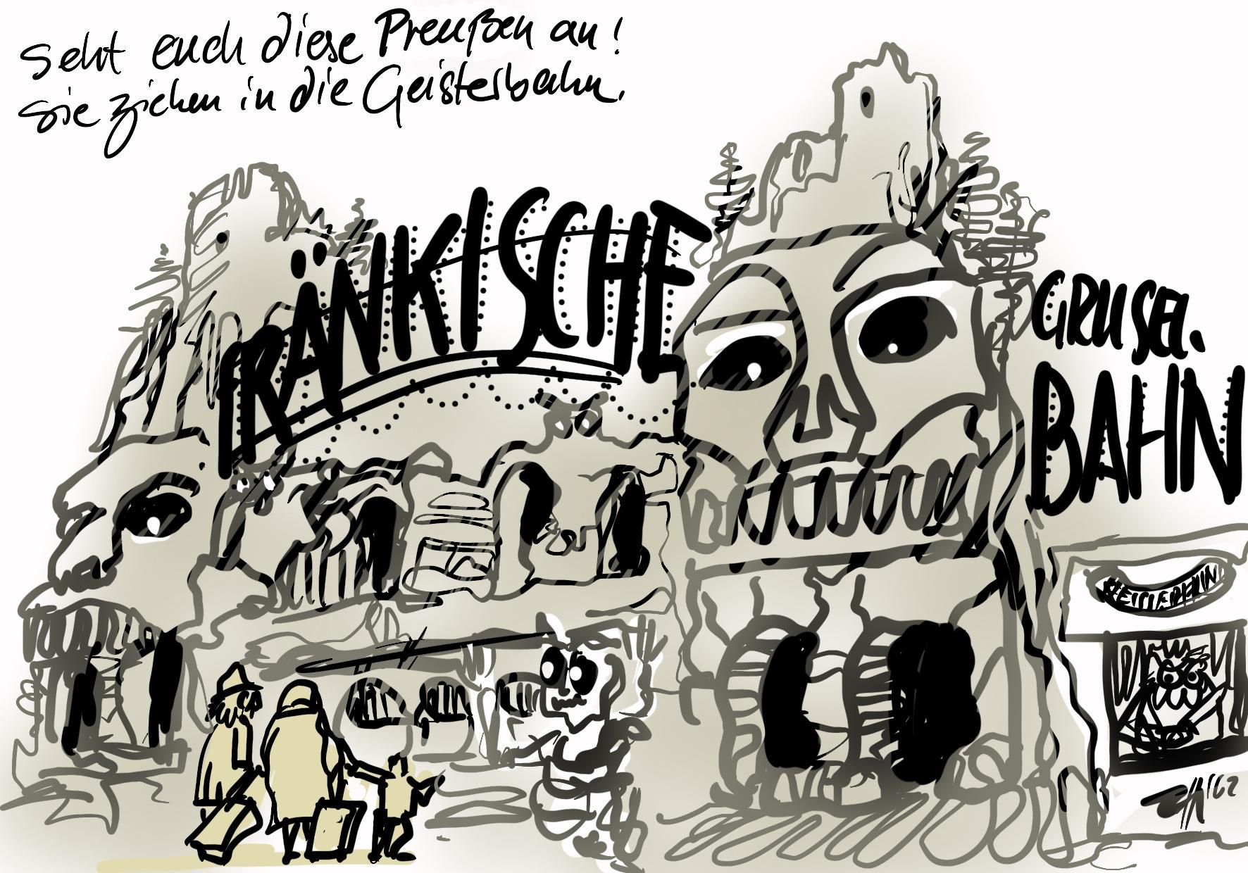 Ins Land der Franken…