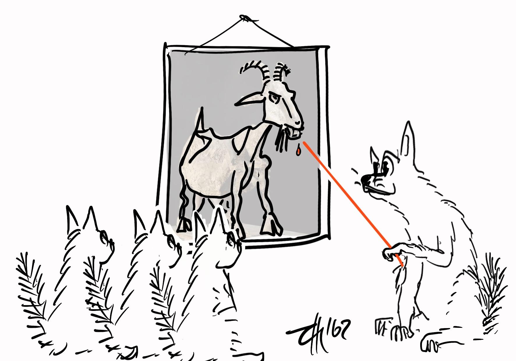 Der Wolf und die sieben G