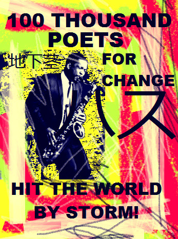 100 Thousand Poets for Change - hit the world by storm by Henrik aeshna, Paris, 2012