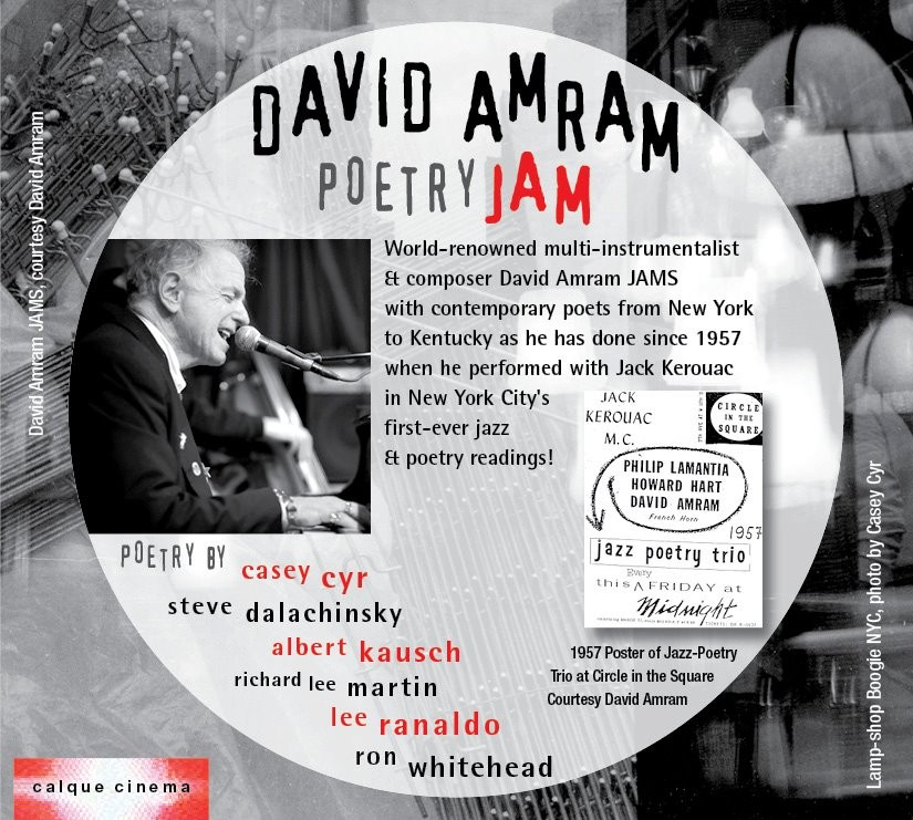 David Amram Poetry JAM CD 1