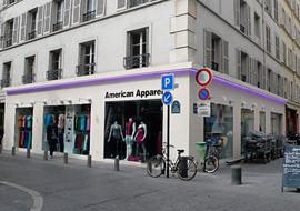 American Apparel Paris 1