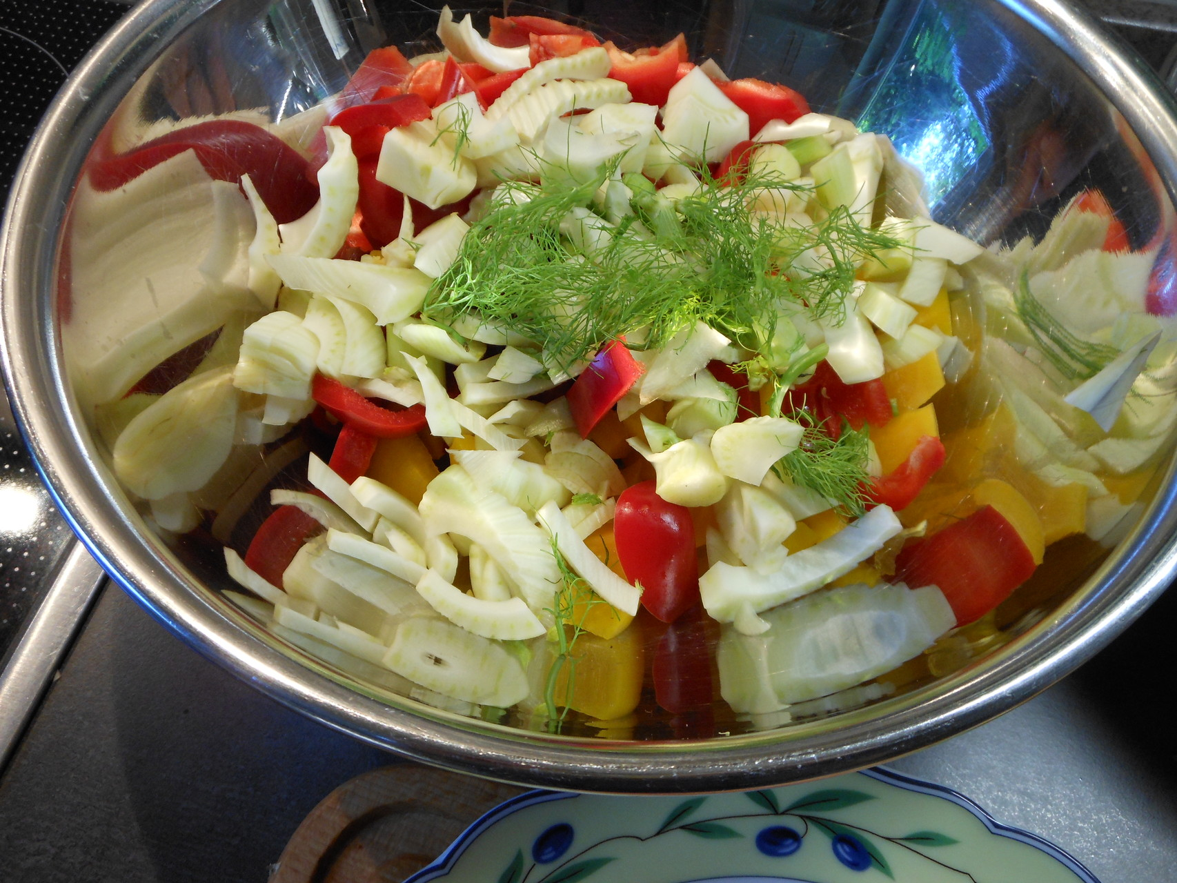 Vorbereitung Gemüsebett