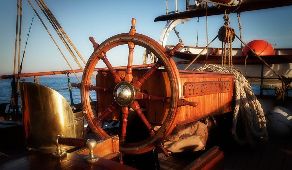 Segelschiff Eye of the Wind