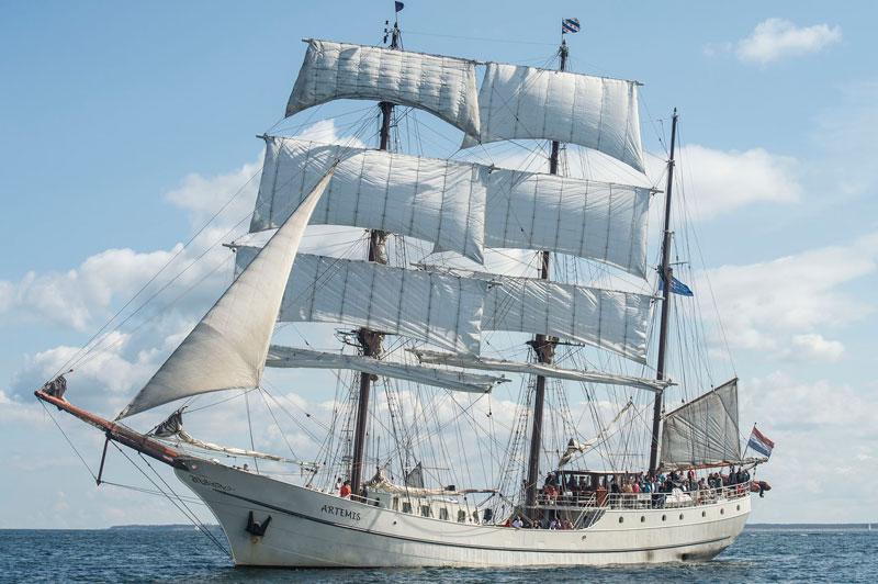 Segelschiff Artemis