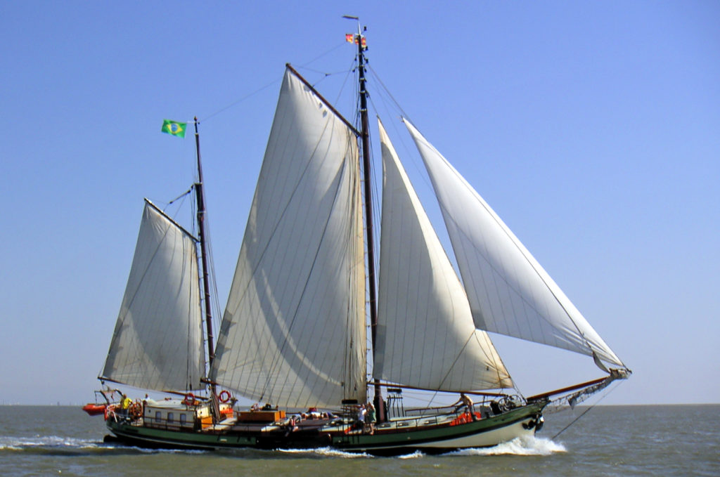 Segelschiff Hoop doet Leven