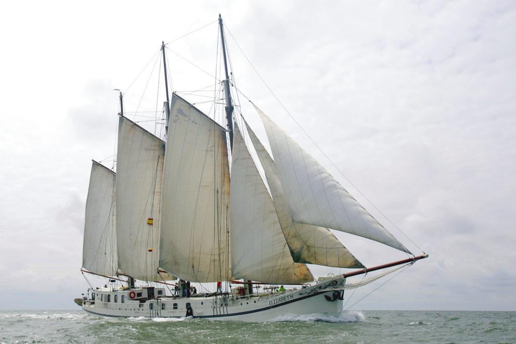 Segelschiff Elizabeth