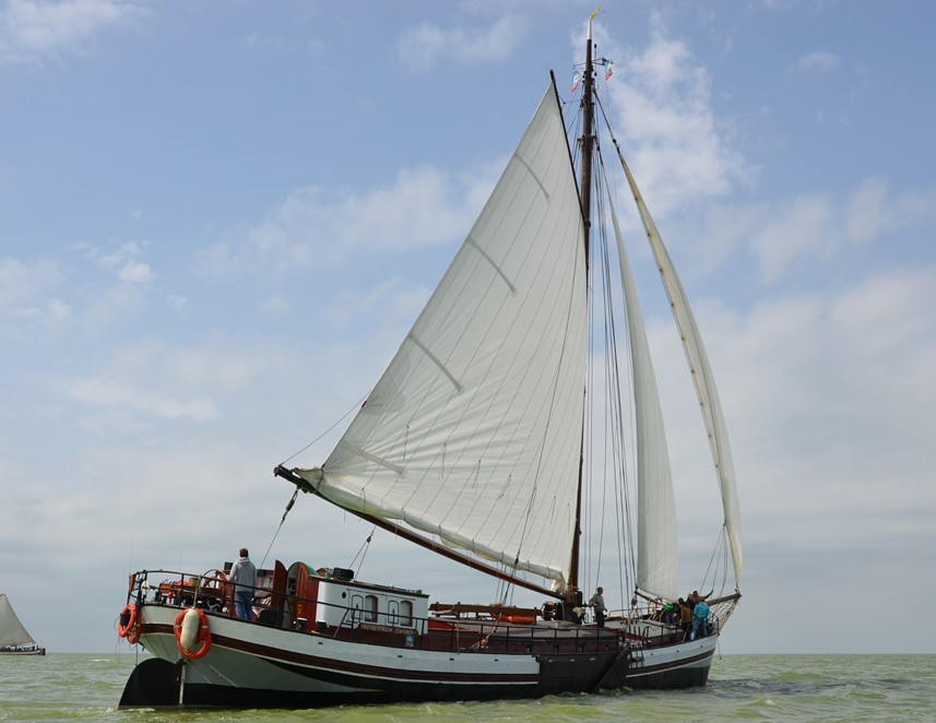 Segelschiff Vriendentrouw