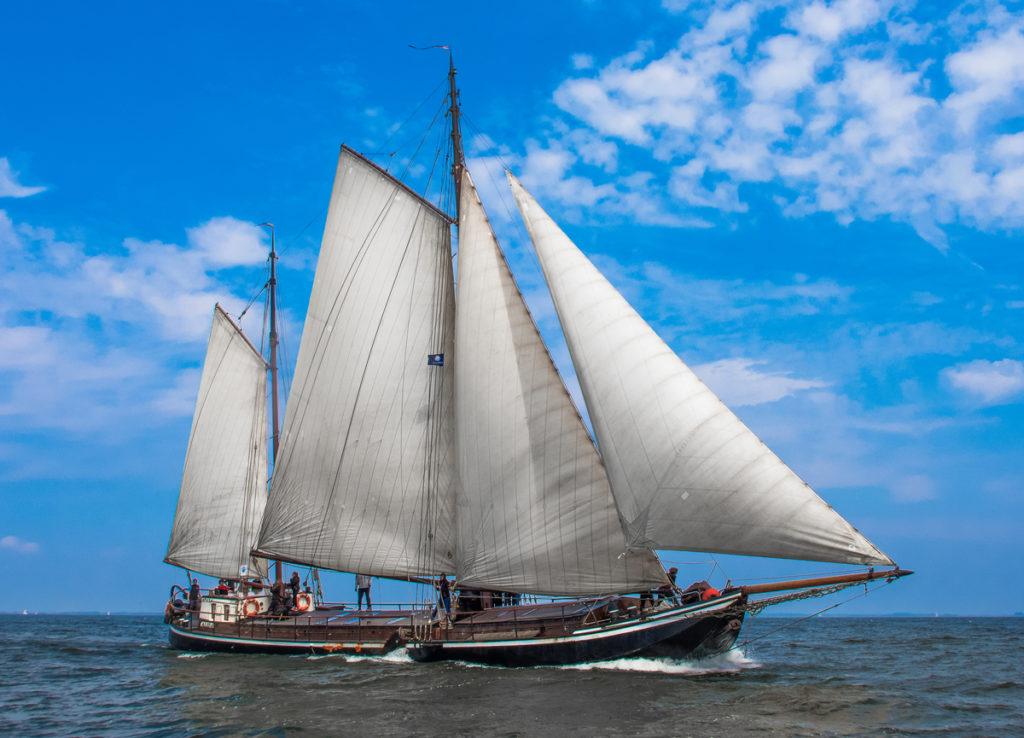 Segelschiff Alida