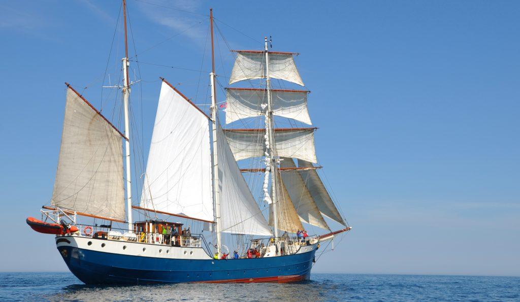 Segelschiff Antigua