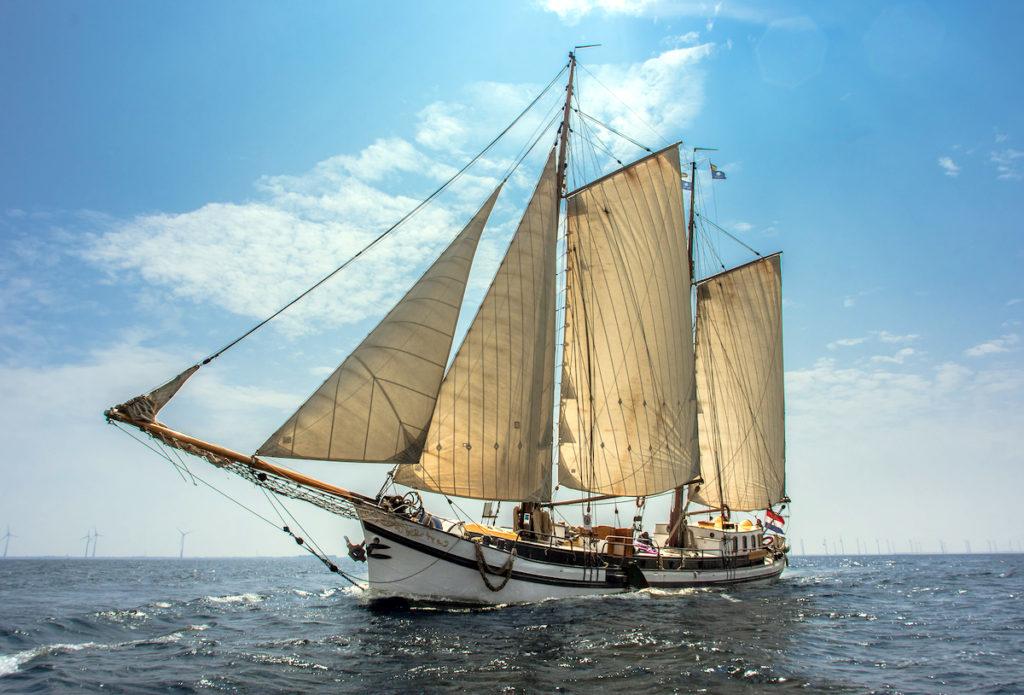 Segelschiff Zeven Wouden