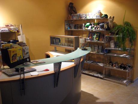 Der LBV-Shop im Bernd Hofer-Haus
