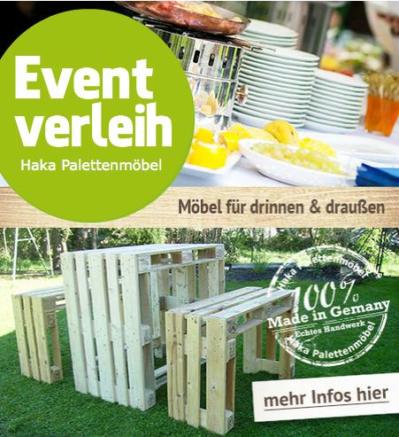 Eventverleih - Mietmöbel - Partymöbel - nicht nur im Raum Ravensburg - Ulm - Stuttgart
