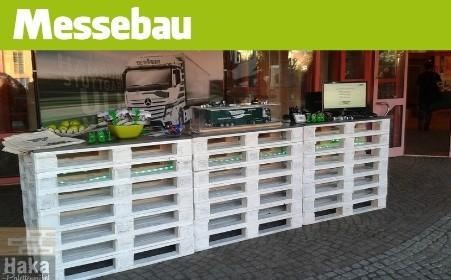Messeeinrichtungen - Messebau - Messemöbel sowohl im Raum Friedrichshafen -Ravensburg - Biberach - Memmingen -Ulm - Stuttgart als auch überregional