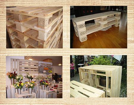 Möbel aus Europaletten von Haka Palettenmöbel